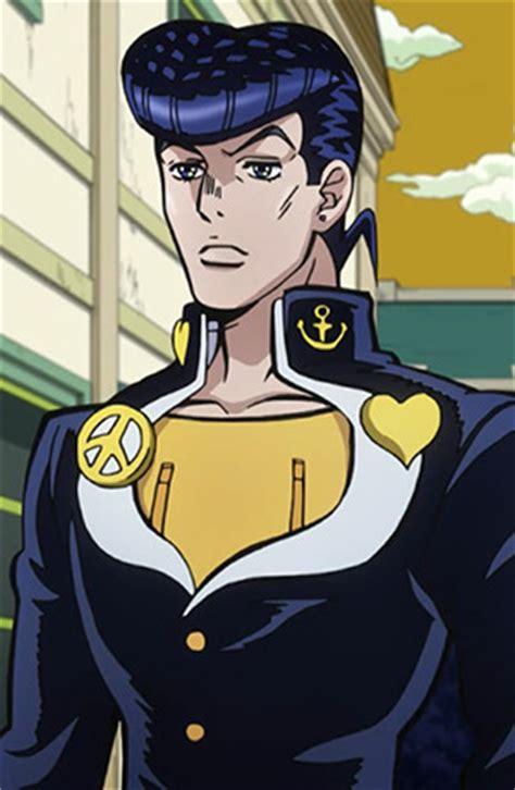 High Quality Anime Jojos Adventure Rohan Kishibe Hair Black Green Wig Josuke Higashikata Anime Planet