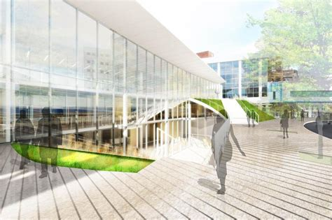 architects creates bridge building  uva medical
