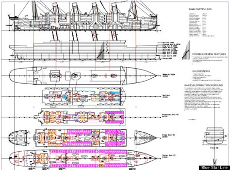 Titanic 2 Deck Plans by Titanic Ii Australian Billionaire Clive Palmer Releases