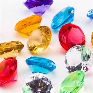 Mini Acrylic Crystal Diamond Gems Pirate vase filler ...