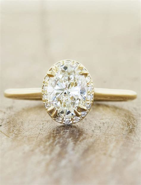 Yuri Subtle Halo Oval Diamond Engagement Ring  Ken. Prince William's Wedding Rings. Sincerely Jules Wedding Rings. Cute Pink Rings. Ear Wedding Rings. Christmas Wedding Rings. Nikkah Wedding Rings. Beauty And The Beast Rose Wedding Rings. Gollums Rings