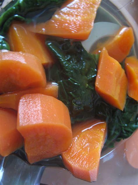 pur 233 e carotte 233 pinards 224 partir 6 mois petitpotbebe mes recettes de petits pots pour b 233 b 233