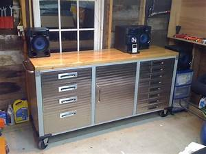 Rolling Tool Chest Work Bench