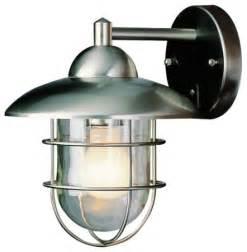 bel air lighting stainless steel outdoor wall light lowes outdoor wall lights and sconces by