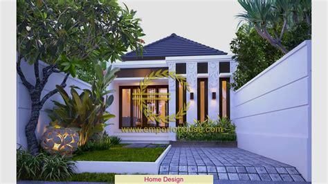 rumah minimalis modern 1 lantai 4 kamar desain rumah