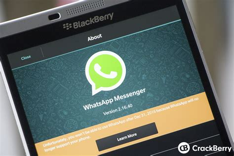 cant whatsapp on blackberry z10 iolost