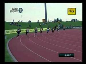 2012 South African Junior Championships - 200m Men Final ...