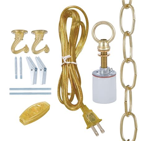 swag light kit swag l kit for fabric shades 30550a b p l supply