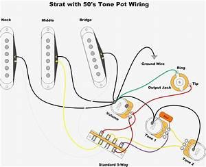 Fender Squier Wiring Diagram