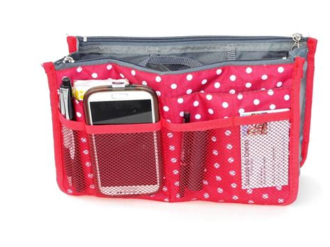 Purse Organizer, Insert, Expandible, Removable, For
