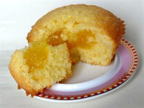 plats rapides à cuisiner muffins coeur crème de citron la tendresse en cuisine