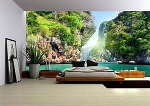 Papier Trompe L Oeil : papier peint effet trompe l 39 oeil ~ Premium-room.com Idées de Décoration