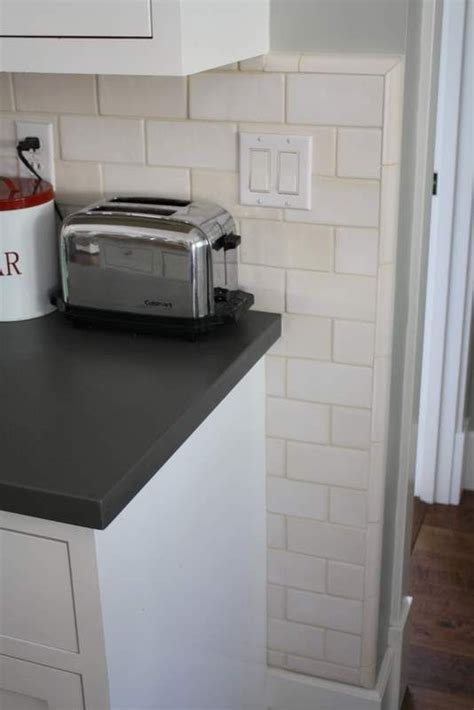 How To Put Up Tile Backsplash In Kitchen by Really Want To Put Up White Subway Tile Backsplash In My