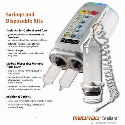 Medrad Stellant Kits Disposable Syringe Leaflet Ct