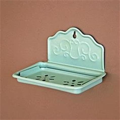 shabby chic metal wall mounted soap dish co uk kitchen home