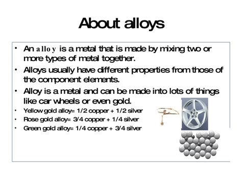 History Of Alloys From Ancient Times