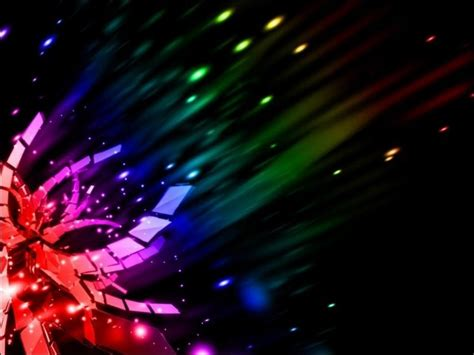Abstract Rainbow Black Background by 50 Breathtaking Abstract Rainbow Wallpapers