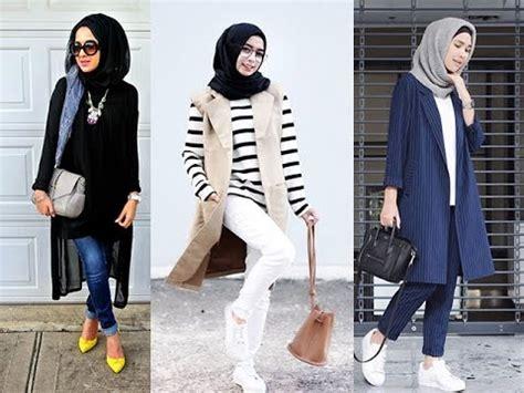 inilah style pakaian hijab anak muda trend  youtube