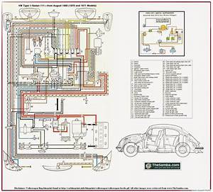 Volkswagen  Vw  Beetle Type 1 Wiring Diagrams And