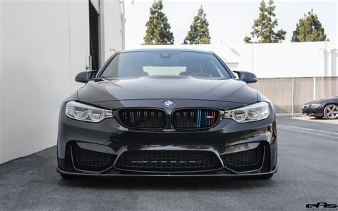 Blacked Out Bmw M4 With Vorsteiner Aero Parts And Custom