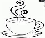 Coffee Pages Cup Coloring Chocolate Tasse Breakfast Cafe Malvorlagen Kaffeetassen Kaffee Drawing Mug Kaffeetasse Cups Printable Zum Ausdrucken Ausmalbilder Croissant sketch template