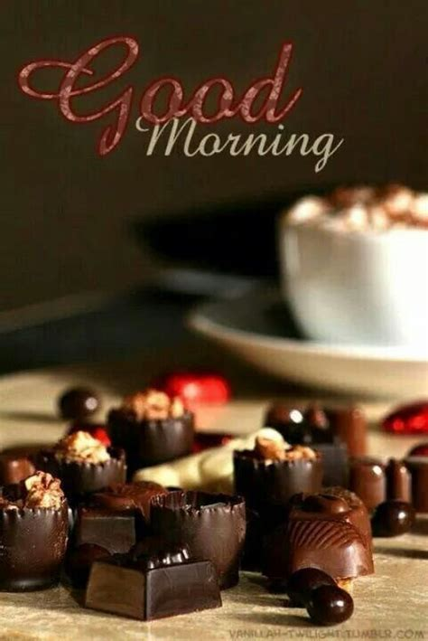 Chocolate Good Morning Pictures, Photos, and Images for