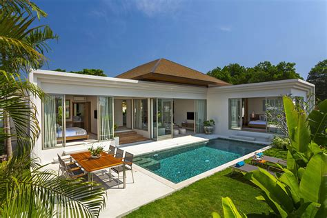Tropical Villa by Modern Tropical 3 Bedroom Pool Villa In Tao Layan