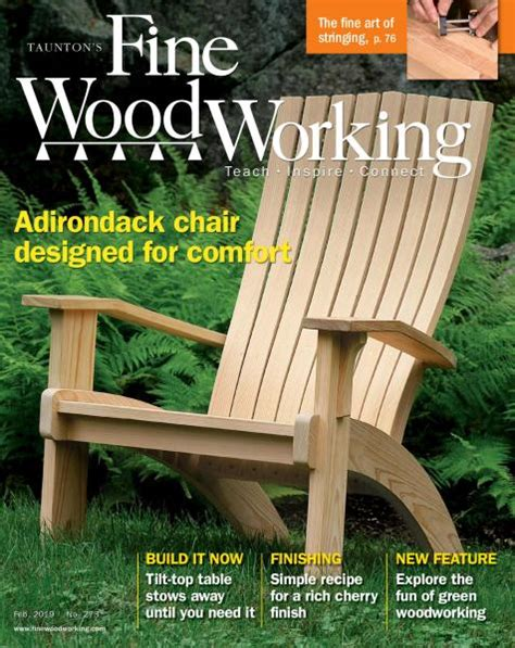 fine woodworking january february