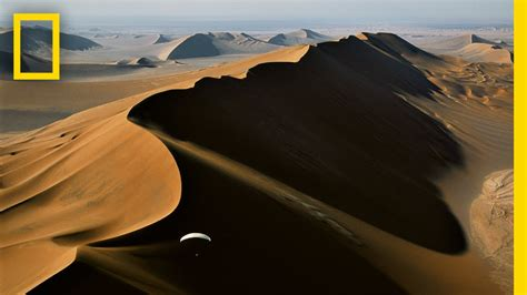 Paragliding Above Extreme Desert Sands | National ...