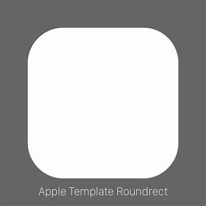 Icon App Template Apple Official Squircle Templates