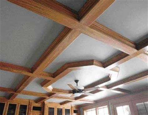 building  coffered ceiling jlc  panels lumber