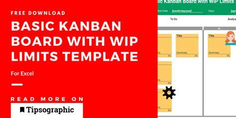 kanban board wip limits template excel kanban board wip