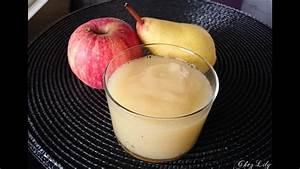 Compote Poire Pomme : compote pomme poire vanille au babycook d s 4 mois youtube ~ Nature-et-papiers.com Idées de Décoration