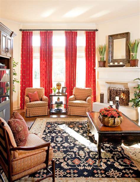decorative burnt orange curtains panels decorating ideas