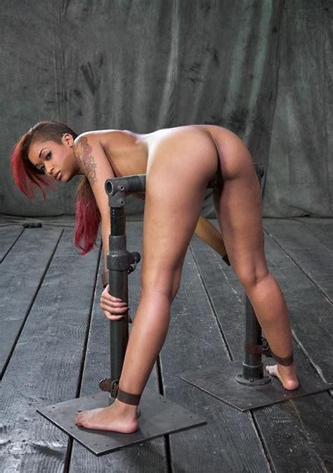 Ass Out And Throat Ready Skin Diamond Bent Over Bound
