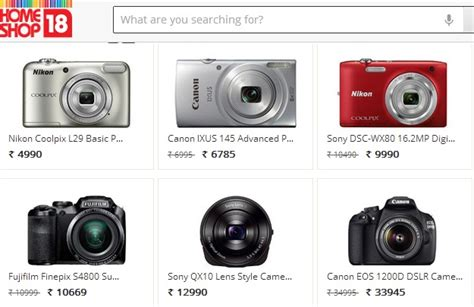 Top Websites In India To Buy Digital Cameras Online