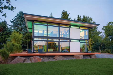 New Prefab House Concept For Intelligent