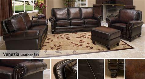 venezia leather sectional and venezia leather set living room pinterest room set