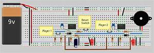 2-1 Quiz Buzzer Circuit Diagram