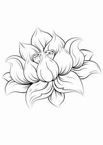 Dessin Fleurs De Lotus : dessin d 39 une fleur de lotus fleurs lotus pinterest lotus tatoo and tattoo ~ Dode.kayakingforconservation.com Idées de Décoration