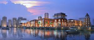 residential architecture design waterfront development of jinhai lake ua hie design