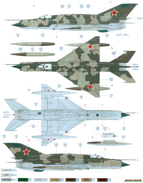 here is our color profile and paint guide for the mig
