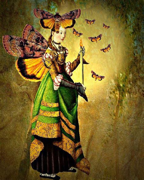 Artist Inspiration Catrin Welz Stein Moths Flame