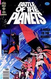 Battle of the Planets (comics) - Wikipedia