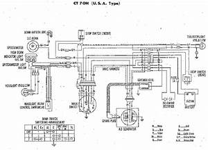 Wiring Diagram Of 1973 1974 Harley Davidson Xl Xlch  61059