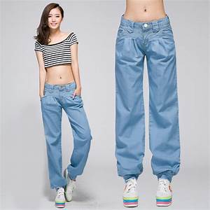 womens baggy jeans - Jean Yu Beauty