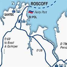 Bureau De Change Caen St Jean by Roscoff Port Guide Brittany Ferries