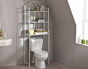 Ikea Meuble Toilette : meuble au dessus du lit latest meuble dessus de wc panneaux de particules et mlamine x x h with ~ Teatrodelosmanantiales.com Idées de Décoration