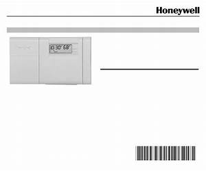 Honeywell Thermostat Ct3200 User Guide