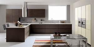 la cuisine marron inspiration cuisine With association de couleur avec le taupe 11 la cuisine marron inspiration cuisine